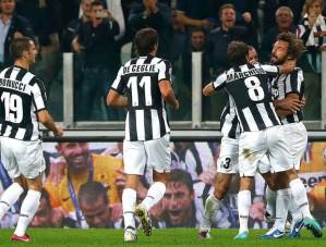 Juventus está a 16 jogos invicto em competições da UEFA (Foto: Reuters)