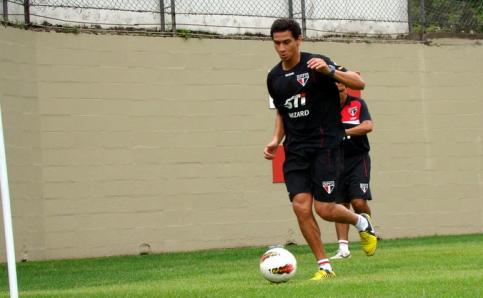 Desde que chegou, Ganso tem trabalhado duro para estrear por seu novo time. (Foto: Reprodução/saopaulofc.net)