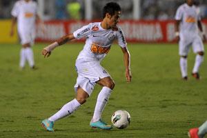Neymar saiu aplaudido pela torcida adversária (Foto: Ricardo Saibun/ Santosfc.com.br)