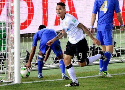 Guerrero marcou novamente e foi o herói da conquista. (Foto: Toru Yamanaka/AFP)