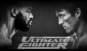 Jones e Sonnen se enfrentam no final do TUF  17 (Foto: Divulgação / UFC)