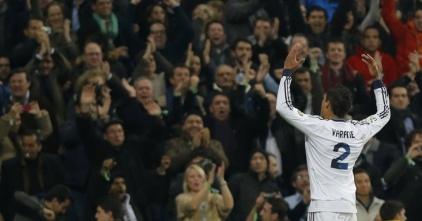 Varane empatou a partida no Bernabéu e deixa a vaga para final da Copa do Rei em aberta (Andres Kudacki/AP Photo)