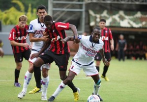 Paraná aguentou a pressão atleticana e venceu o jogo (Foto: Divulgação/ Site oficial do Atlético-PR)
