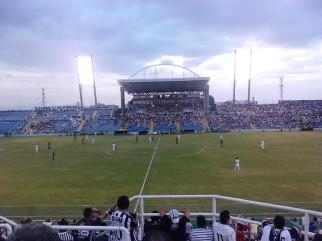 Torcedor viu a vitória do Ceará com certa desconfiança (Foto: Renan Araujo)