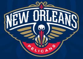 O novo símbolo da equipe de New Orleans.