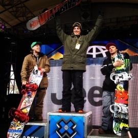 """Da esquerda para a direita, Dylan Alito, Paradis, and Dylan Thompson (Foto: Ryan """"Huggy"""" Hughes)"""
