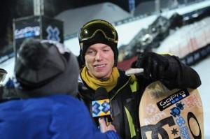 Com pontuação máxima na segunda volta, Horgmo fica com o ouro no big air (Foto: Allen Kee / ESPN Images)