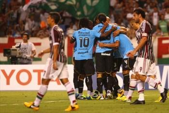 (Grêmio ressurge na libertadores contra o Fluzão\Foto: Divulgação Oficial Grêmio)