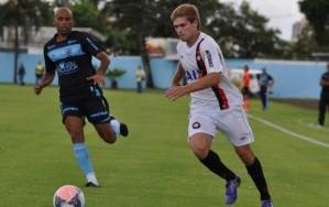 CAP tentou, mas sub-23 segue em campanha ruim no Paranaense (Foto: Divulgação - Site oficial do Atlético-PR)