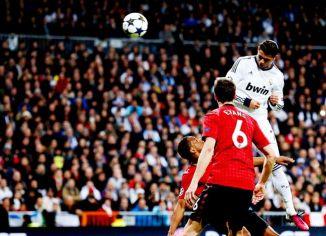 Cristiano Ronaldo marcou pela primeira vez contra seu ex-clube (Foto: Cesar Manso/AFP)