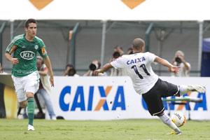 Emerson Sheik abriu o placar para o Corinthians. (Foto: Divulgação/Site Oficial Corinthians)