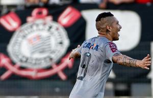 Guerrero entrou para igualar a partida para o Corinthians. (Foto: Divulgação/Site Oficial do Corinthians)