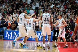 O Real Madrid continua invicto no Top 16. (Foto: EuroLeague.net)