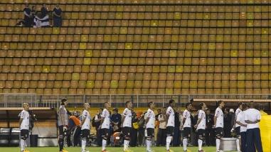 """Após jogar com estádio """"vazio"""", Corinthians irá contar com a força de sua torcida. (Foto: Reprodução/ESPN)"""