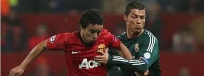 (Ronaldo marcou o gol da vitória e da classificação dos merengues\Foto: Divulgação Manchester United)