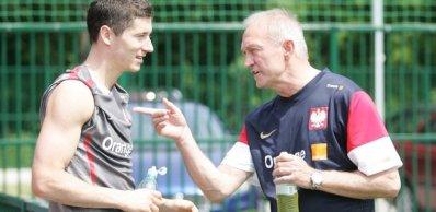 O reencontro com Smuda aconteceu no Lech, e depois na seleção da Polônia (Foto: Newspix)