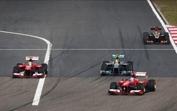 Alonso não cometeu erros e venceu em solo chinês (Foto: Getty Images)