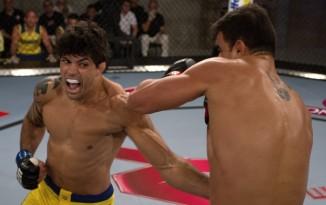 (Viscardi venceu, mas arrumou problemas com o treinador adversário\Foto: Divulgação UFC)