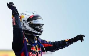 Vettel reinou sozinho no Oriente Médio (Foto: Getty Images)