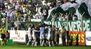 Como na primeira fase, a torcida do Arapongão fez bonita festa no Estádio dos Pássaros  (Foto: Carlos Duarte - AEC)