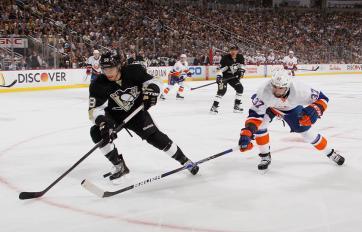 (Na volta de Crosby, Penguins abrem vantagem mas decem a virada. Foto: Divulgação/NHL)