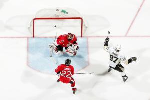 (Penguins brilham fora de casa e podem se clasificar na próxima partida. Foto: Divulgação/NHL)