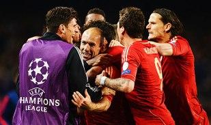 (Robben abriu a porta para outro massacre alemão\Foto: Divulgação\Bayern de Munique)