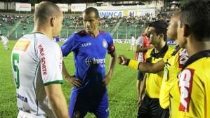 Após enfrentar o pentacampeão Rivaldo, o Arapongas quer surpreender também o Figueirense  (Foto: Carlos Duarte - AEC)