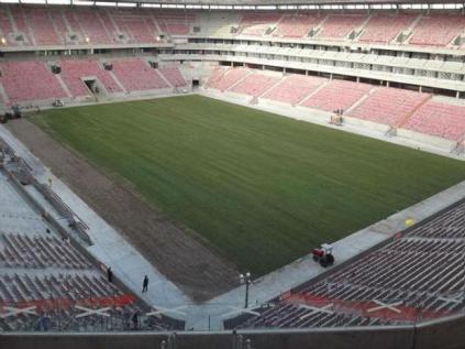 Estádio está com 98,4% das obras concluídas (Foto: Divulgação)
