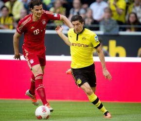 Borussia e Bayern protagonizam a quarta final entre times do mesmo país (Odd Andersen/ AFP)