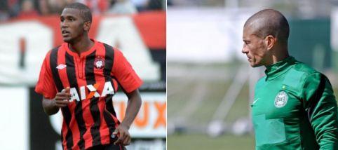 Douglas Coutinho (esq.) é o grande nome do CAP, já pelo Coxa a aposta para o clássico é Alex (dir.) (Fotos: Divulgação)