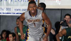 Dakari Johnson atuando por Montverde Academy. (Foto: MaxPreps/CBS)