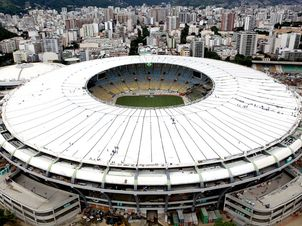 Maracanã será palco da final do torneio ( Foto : divulgação Secretaria de Obras )