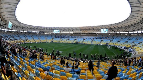 Estádio do Maracanã após a reforma ( Foto : André Durão )