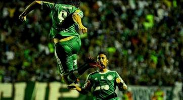 Palmeiras mostrou o peso da camisa em Arapiraca. (Foto: Reprodução/GloboEsporte.com)