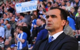 Roberto Martínez levou o Wigan ao maior título de sua história (Getty Images)