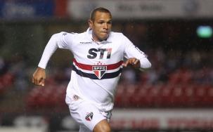 Luís Fabiano marcou dois gols na goleada tricolor. (Foto: Divulgação/Site Oficial São Paulo)
