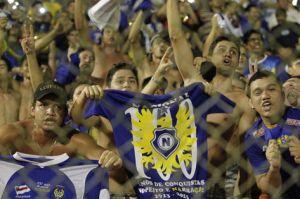 Torcedores do Nacional comemoram goleada em casa ( Foto : Bruno Kelly )