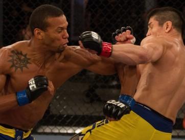 (Marreta teve mais contundência e passou de fase. Foto: Divulgação/UFC)