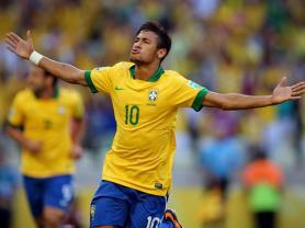 Neymar é mais uma vez destaque da partida ( Foto : FoxSports)