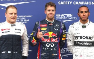 Vettel vai largar pole no GP do Canadá (Foto: AP)