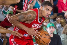 Glen Rice Jr. atuando pelo Vipers. (Foto: NBAE/Getty Images)