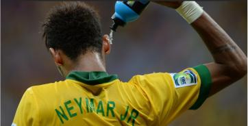 Neymar foi o grande nome da seleção (Foto: AFP Photo)