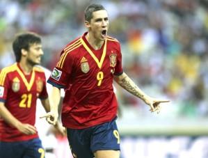 Fernando Torres é o artilheiro da Copa das Confederações com 5 gols marcados (Foto: EFE)