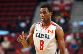 Andrew Wiggins atuando pela seleção de base do Canadá. (Foto: Sports Journal)