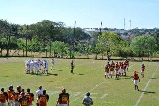 A partida entre Barons e Pyros, realizada em Londrina. (Foto: Divulgação/Barons)