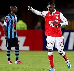 Santa Fé é a grande surpresa da Libertadores 2013 ( EFE)