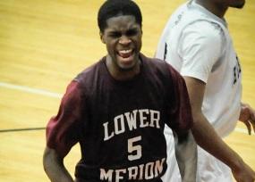 B.J. Johnson atuando pela Lower Merion High School, mesma de Kobe Bryant. (Foto: Philly.com)