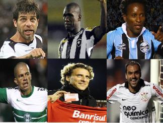 (Fotos: Divulgação / Facebook e site oficial dos clubes)