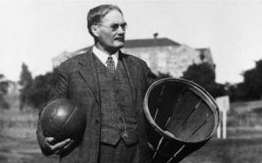 O primeiro gênio canadense no basquete, o inventor do esporte James Naismith. (Foto: Arquivo/Kansas)